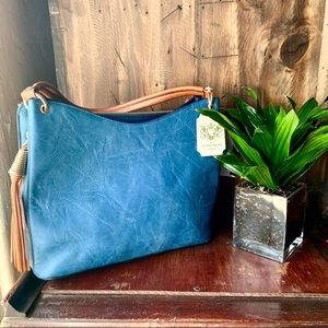 Handbags - Beautiful blue handbag -NEW
